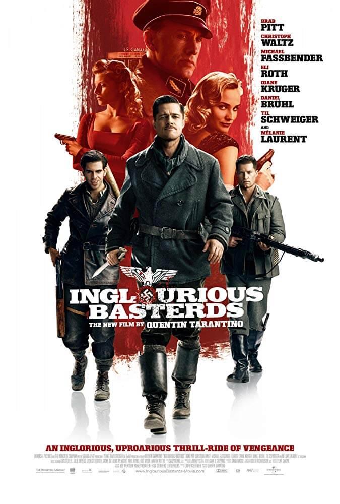タランティーノ監督とブラピがタッグ、映画『イングロリアス・バスターズ』(2009)【感想、あらすじ、ネタバレあり】