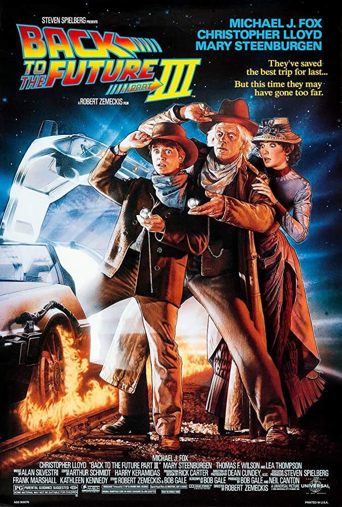 大人気SFシリーズ遂に完結!映画『バック・トゥ・ザ・フューチャーPART3』(1990)【あらすじ、感想、ネタバレあり】