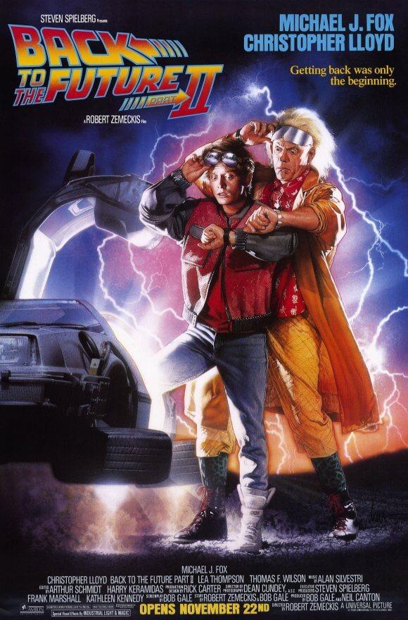 大ヒットSFシリーズ第二弾!!映画『バック・トゥ・ザ・フューチャーPART2』(1989)【あらすじ、感想、ネタバレあり】