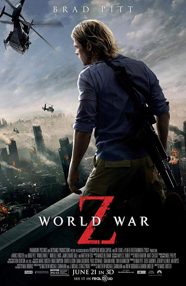 世界的に高評価を受けたゾンビ映画『ワールド・ウォーZ』(2013)のあらすじと感想をネタバレありで紹介!