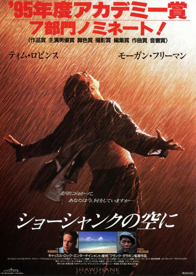 感動の名作、映画『ショーシャンクの空に』(1994)の評価と感想【あらすじ、ネタバレあり】