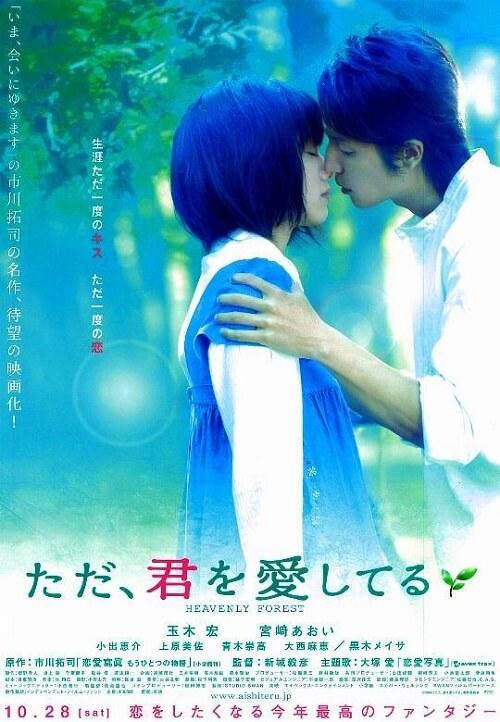 かわいい宮崎あおいに注目の感動作、映画『ただ、君を愛してる』(2006)の感想【あらすじ・ネタバレあり】