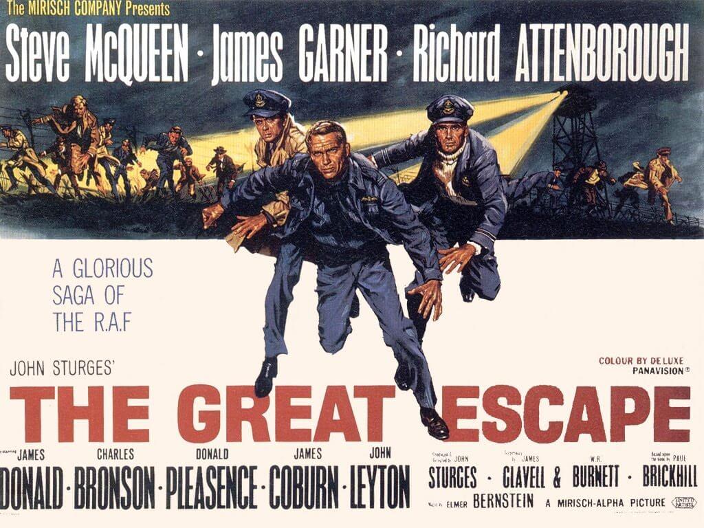 名作映画『大脱走』(1963)の魅力を豪華キャストと併せて解説!!【あらすじ、感想、ネタバレあり】