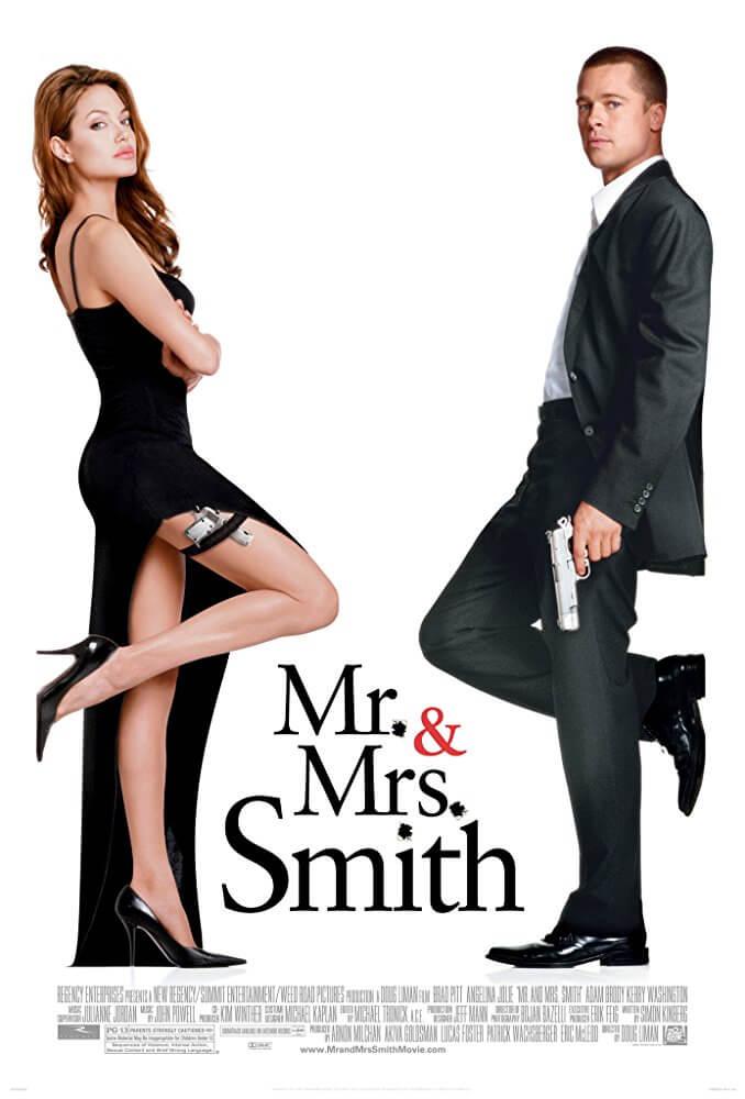 ブラピ×アンジーの痛快アクション!結末まで見逃せない映画『Mr. &Mrs. スミス』(2005)のあらすじと感想【ネタバレあり】