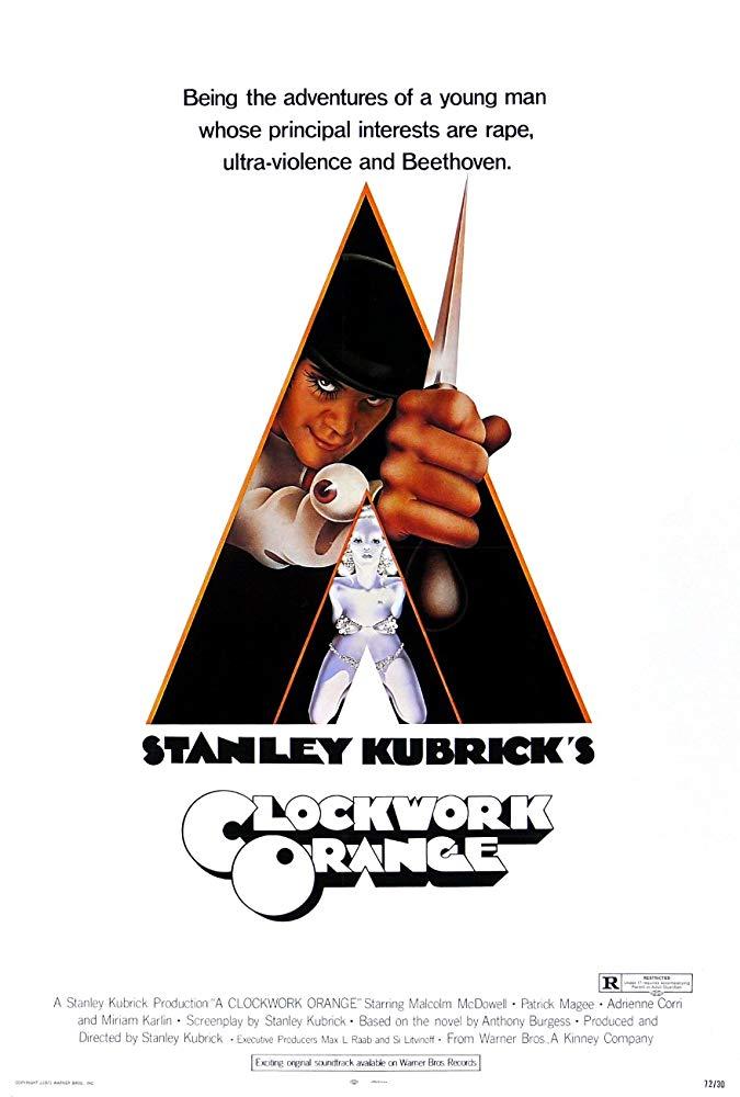 映画『時計じかけのオレンジ』(1971)の意味やラストシーンを作品への評価と合わせて考察【あらすじ、感想、ネタバレあり】