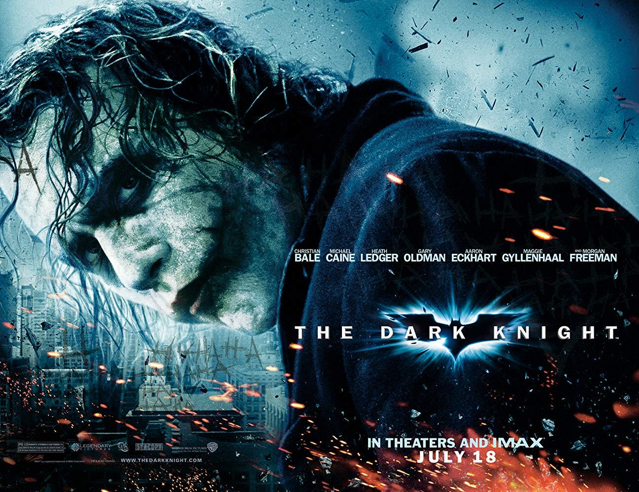 映画『ダークナイト』(2008)の名言・名セリフを英語・日本語の一覧で紹介