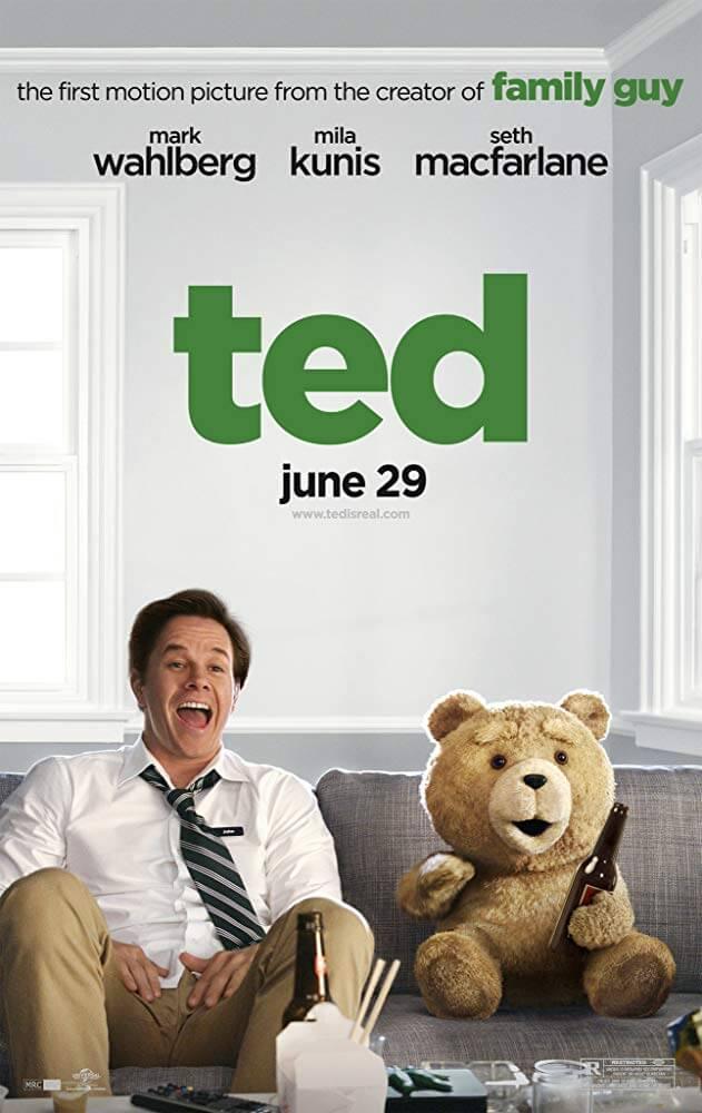 外見と中身のギャップに騙される! 映画『テッド』(2012)の評価や人気の理由を考察【あらすじ、感想、ネタバレあり】