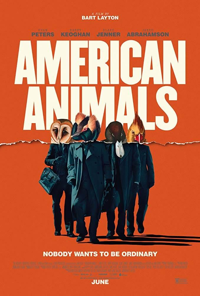 『アメリカン・アニマルズ』(2018)のラストシーンと元ネタとなった実話の解説、作品の考察【あらすじ、感想、ネタバレあり】